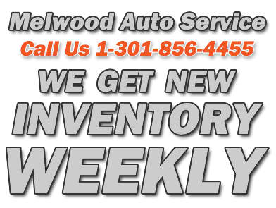 Melwood Auto Service Used Car Sales
